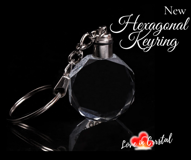 Hexagonal Keyring