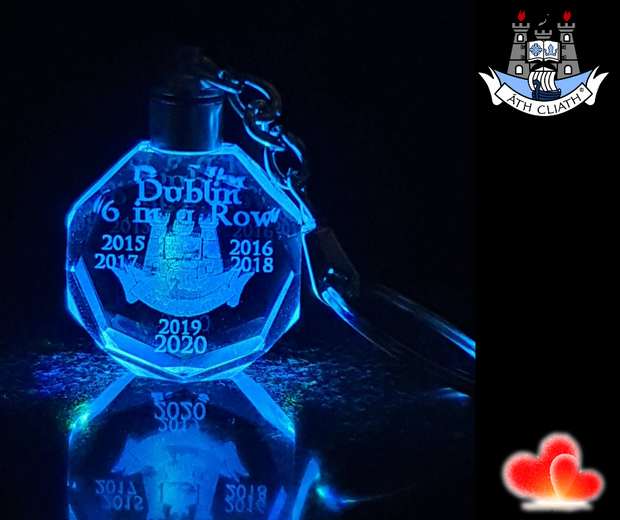 Dublin All-Ireland football 2020 Champions Keyring