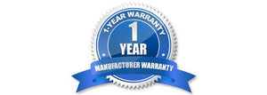12 month manufacturer warranty