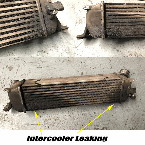 iload intercooler leaking oil