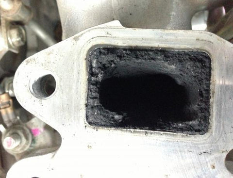 Mitsubishi triton intake manifold carbon build up