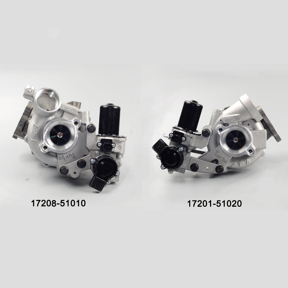 TWIN TURBO FOR TOYOTA LANDCRUISER VDJ200 200 SERIES V8 1VD-FTV