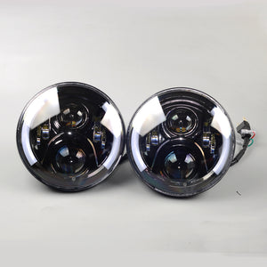 7 Inch LED Headlights to suit Nissan Patrol GQ / Holden H series / Jeep 4x4