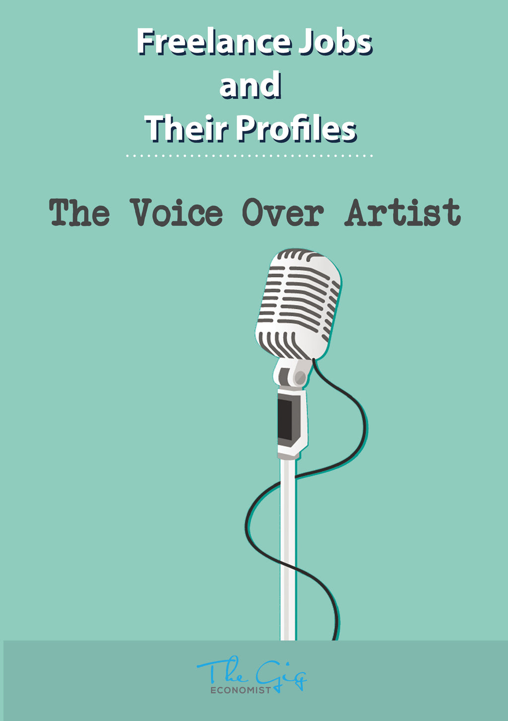 Freelance Voice Over Artist Job Profile | The Gig Economist