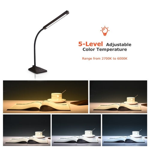 Flexible LED Desk Lamp