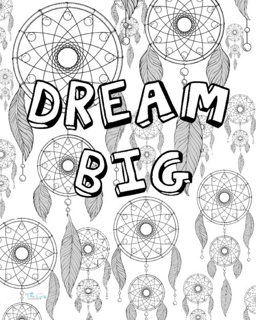 Dreamcatcher Colouring Page | The Gig Economist