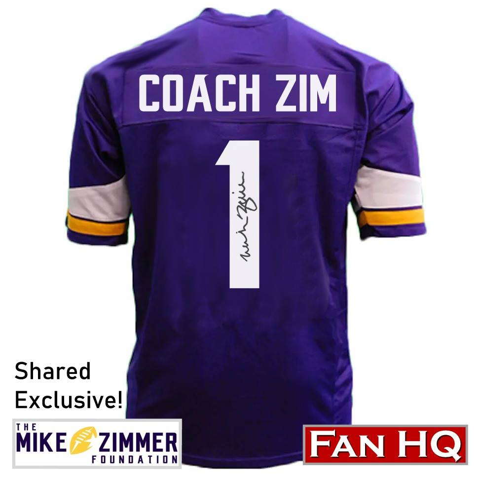 Mike Zimmer Signed Items