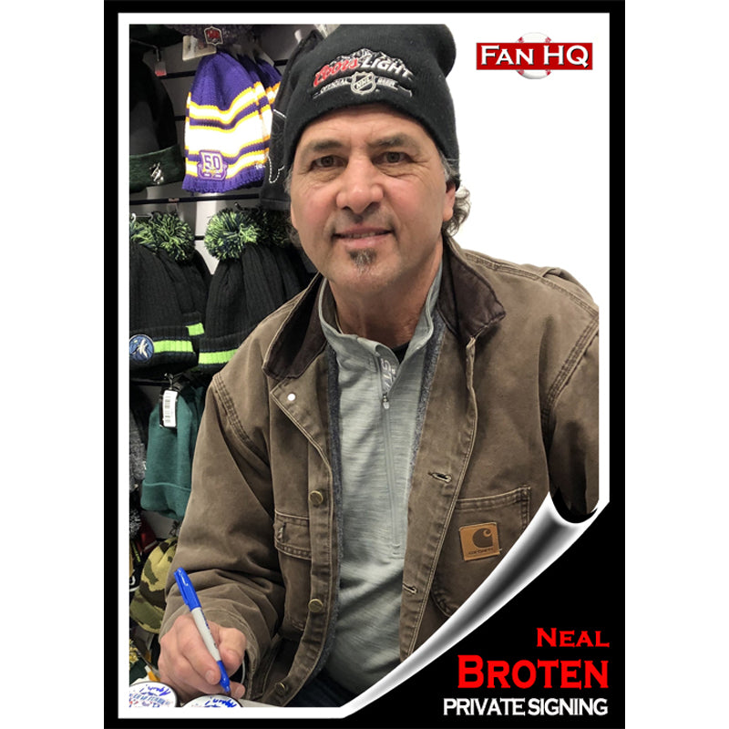 Neal Broten Private Signing