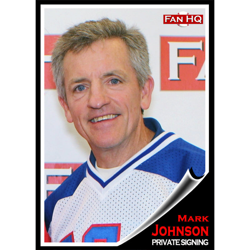 Mark Johnson Private Signing