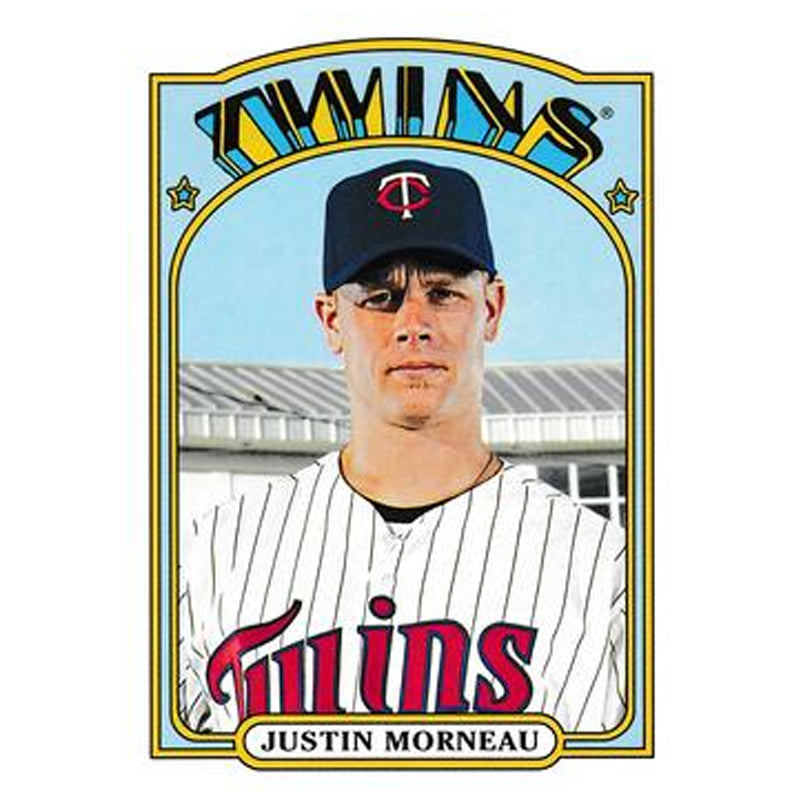 PRE-ORDER: Justin Morneau Autographed Baseball Card (Various To Choose From)