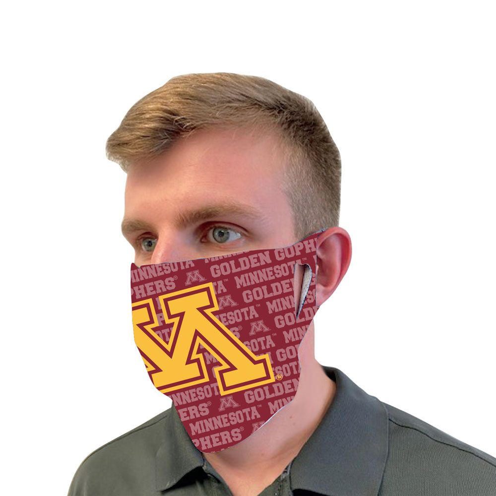 Minnesota Golden Gophers Logo Fan Mask Face Cover