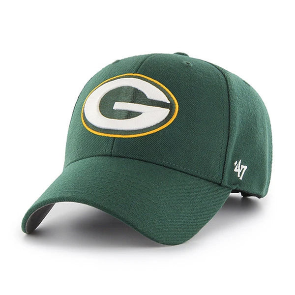 Green Bay Packers '47 MVP Green Logo Adjustable Hat