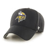 Minnesota Vikings '47 MVP Black Adjustable Hat