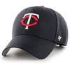 Minnesota Twins '47 MVP Navy TC Logo Adjustable Hat
