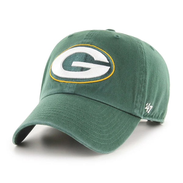 Green Bay Packers '47 Clean Up Green Logo Hat