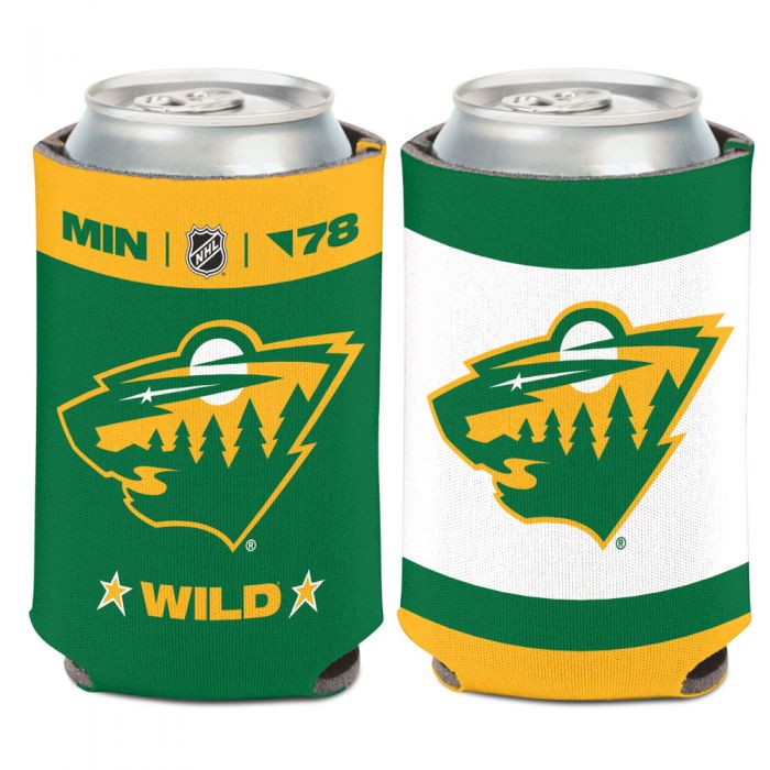 Minnesota Wild Reverse Retro Can Cooler