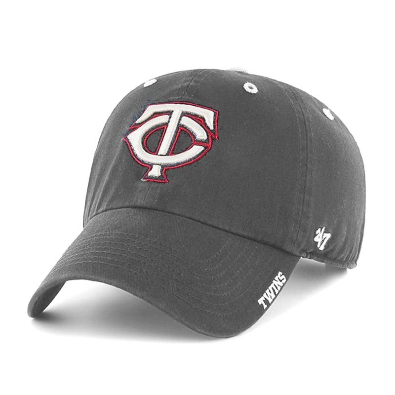 Minnesota Twins Gray Ice TC Logo '47 Clean Up Hat