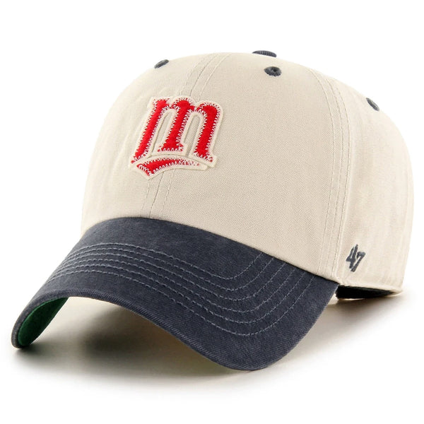Minnesota Twins '47 Clean Up Cooperstown Prewett Hat