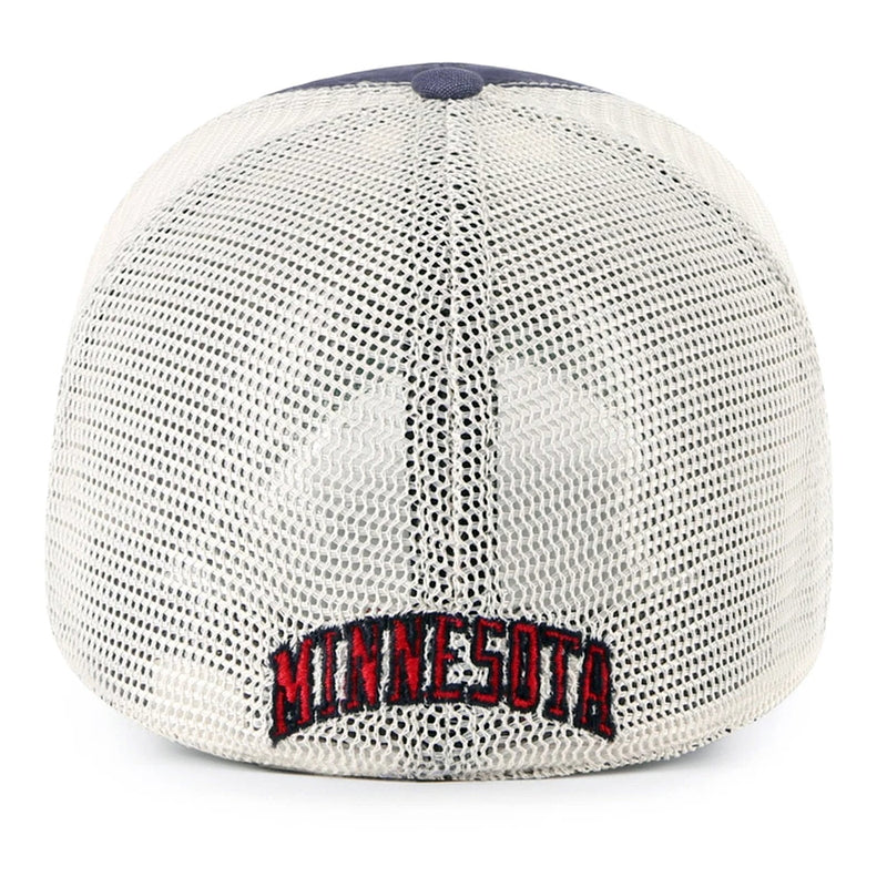 Minnesota Twins '47 Closer Cooperstown Fiske Navy Stretch Fit Hat