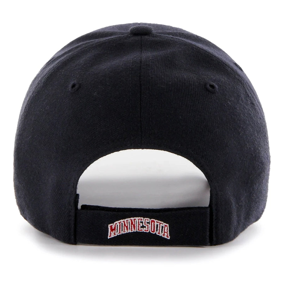 Minnesota Twins '47 MVP Navy Cooperstown M Logo Adjustable Hat