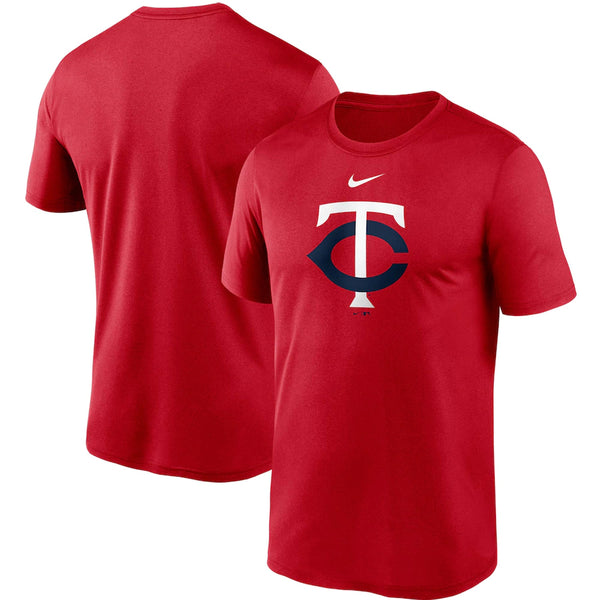 Minnesota Twins Red Nike Large Logo Legend Performance T-Shirt