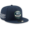 Minnesota Timberwolves New Era Youth Navy 2019 Draft 9FIFTY Snapback Adjustable Hat