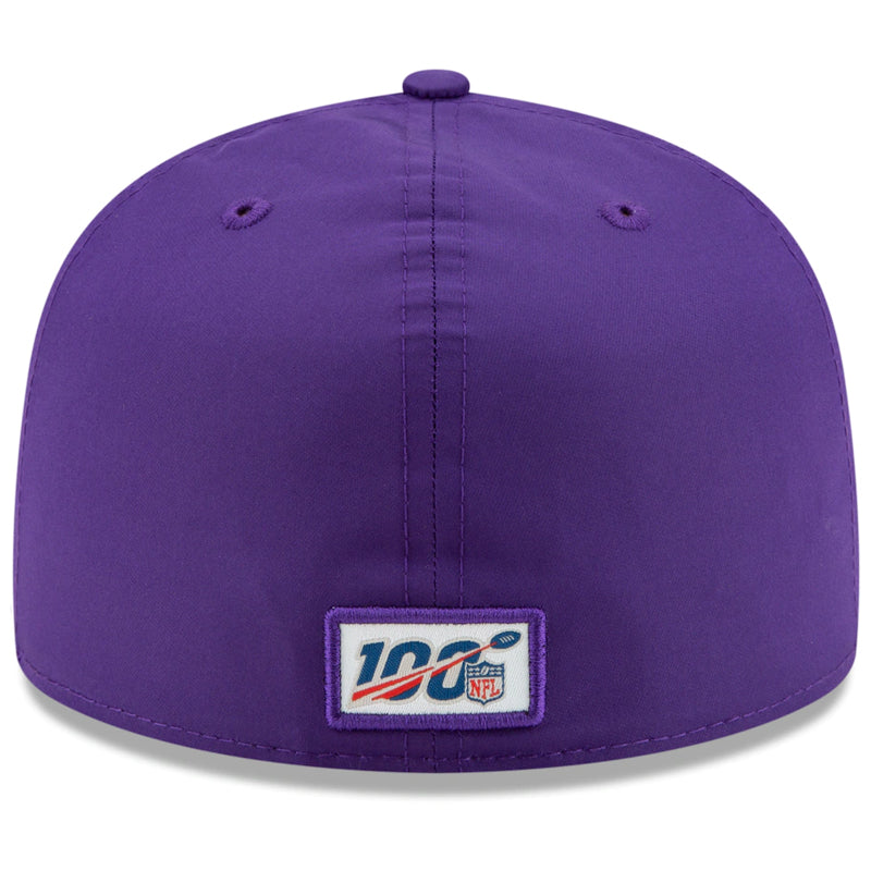 Minnesota Vikings New Era Purple 2019 NFL Sideline Home Official 59FIFTY 1960s Fitted Hat