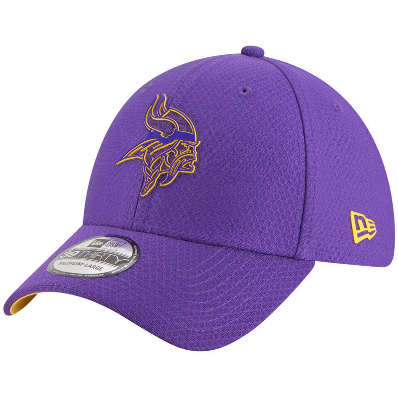 Minnesota Vikings New Era Purple Training 39THIRTY Flex Fit Hat