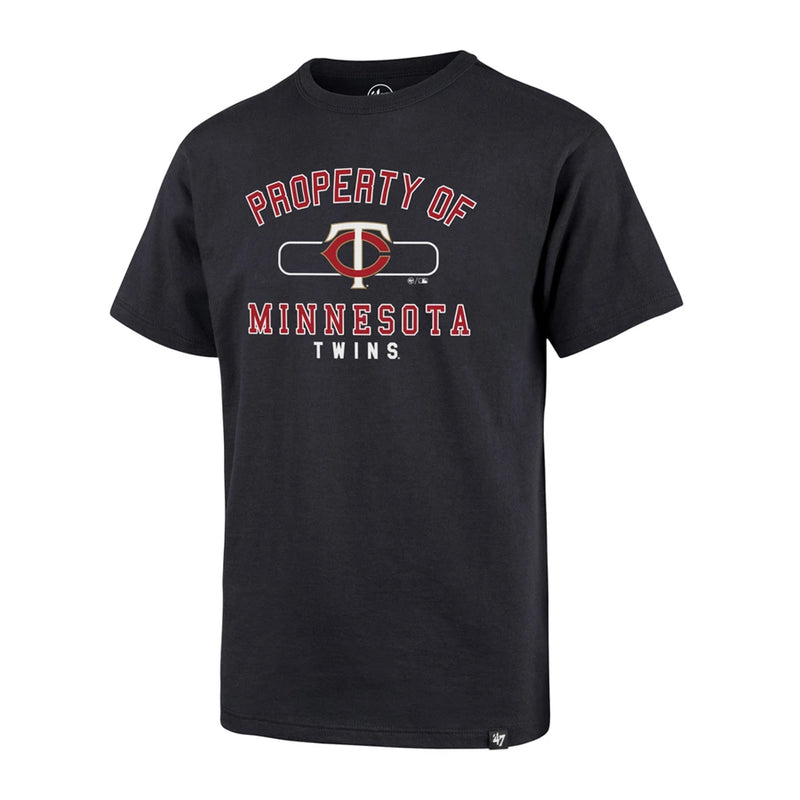 Minnesota Twins Youth Navy Property Of  Super Rival T-Shirt