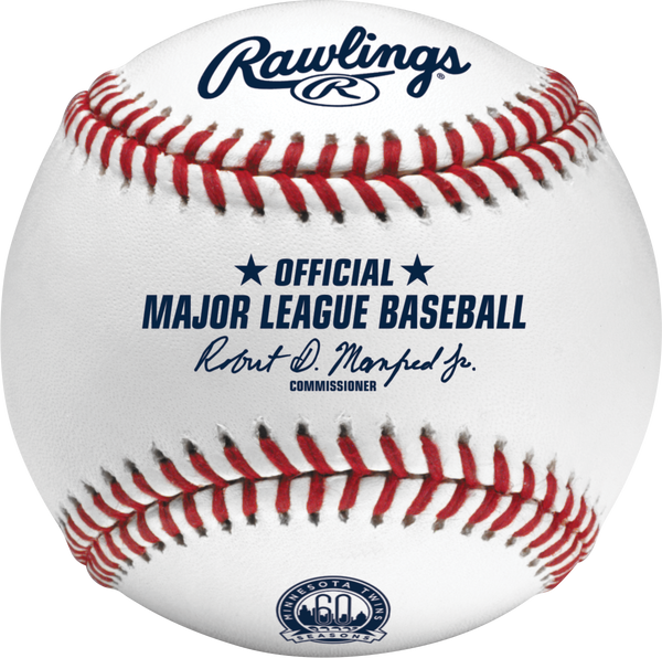 Minnesota Twins 60th Anniversary Season Rawlings Official Major League Baseball