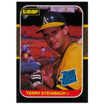 PRE-ORDER: Terry Steinbach Autographed Baseball Card (Various To Choose From)