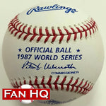 1987 World Series Rawlings Official Major League Baseball Minnesota Twins
