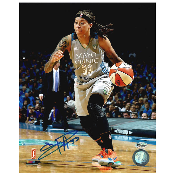 Seimone Augustus Autographed Minnesota Lynx Action 8x10 Photo