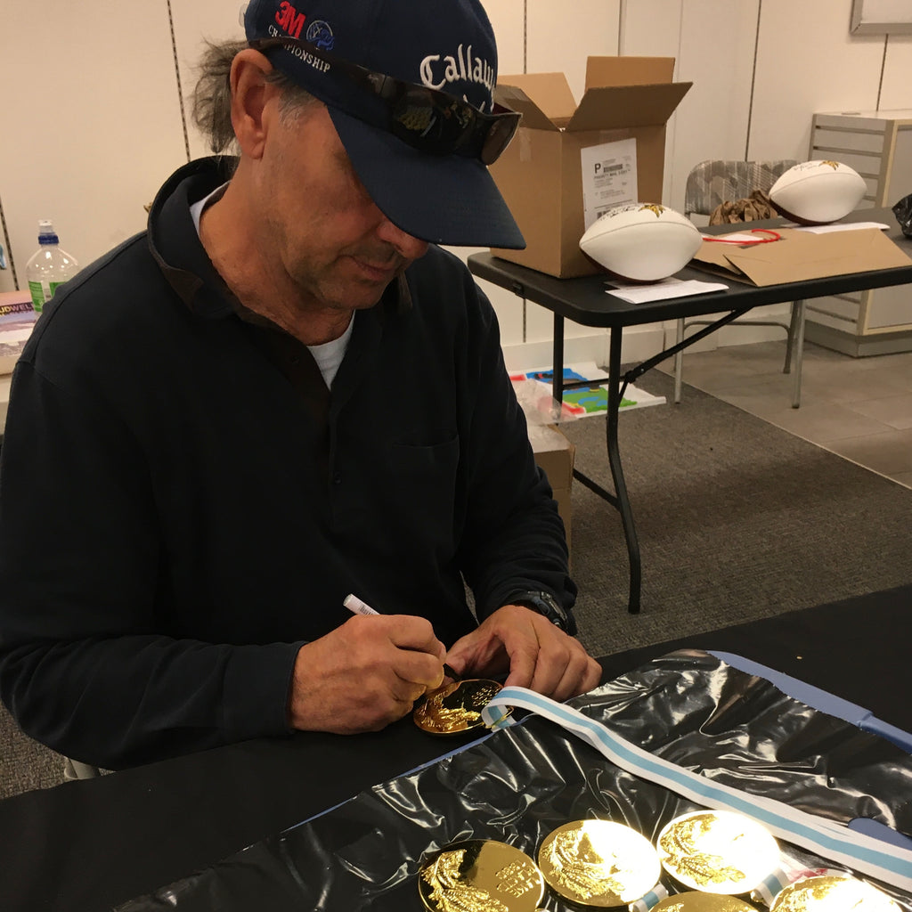 Neal Broten Autographed Replica 1980 Gold Medal