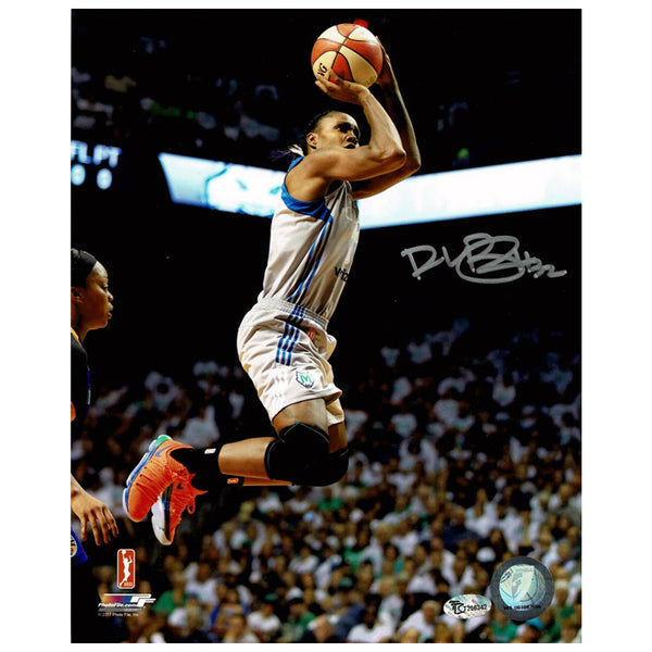 Rebekkah Brunson Autographed Minnesota Lynx Action 8x10 Photo