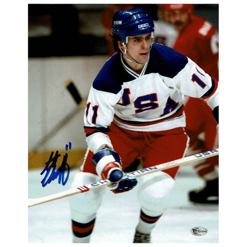 Steve Christoff Autographed Team USA 8x10 Photo