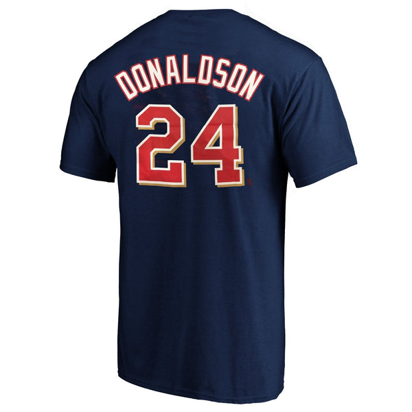 Josh Donaldson Minnesota Twins Nike Navy Player Tee T-Shirt