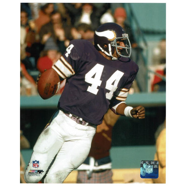 PRE-ORDER: Chuck Foreman Autographed 8x10 Photo (With or Without Inscription)