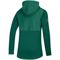 Minnesota Wild Green Adidas Game Mode Full-Zip Hoodie