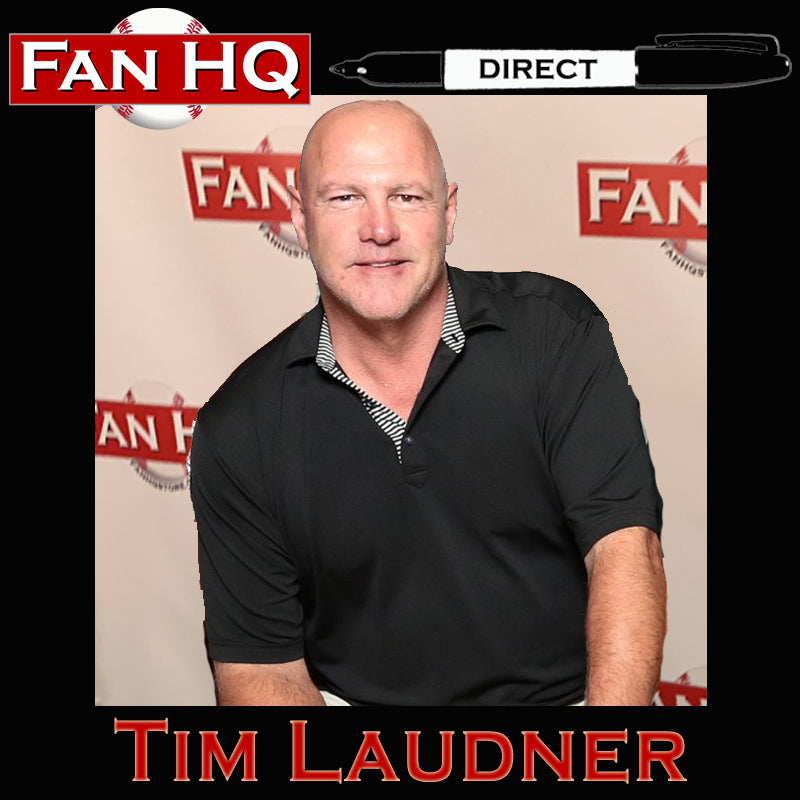 FAN HQ DIRECT Tim Laudner Deluxe Autograph (Your Item)