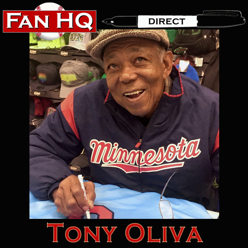 PRE-ORDER Tony Oliva Autographed Rawlings Gold Glove Official Major League Baseball