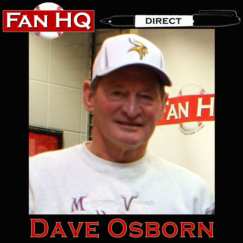 PRE-ORDER Dave Osborn Autographed Wilson Full Size Replica Football