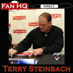 PRE-ORDER Terry Steinbach Autographed Rawlings Big Stick Bat (Blonde)