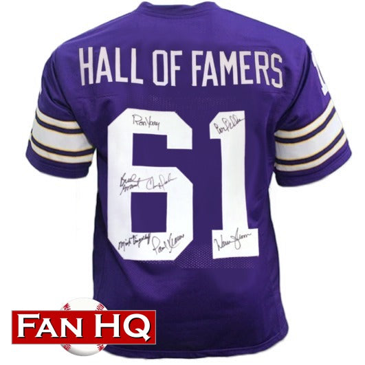Minnesota Hall of Famers Autographed Pro-Style Jersey