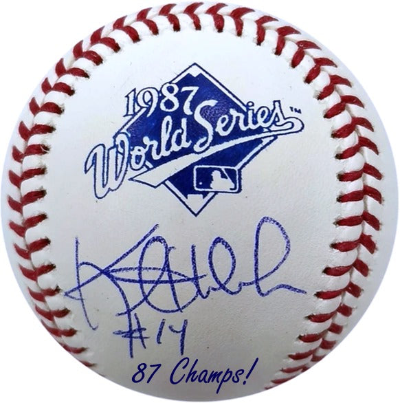 PRE-ORDER Kent Hrbek Autographed Rawlings 1987 World Series Baseball