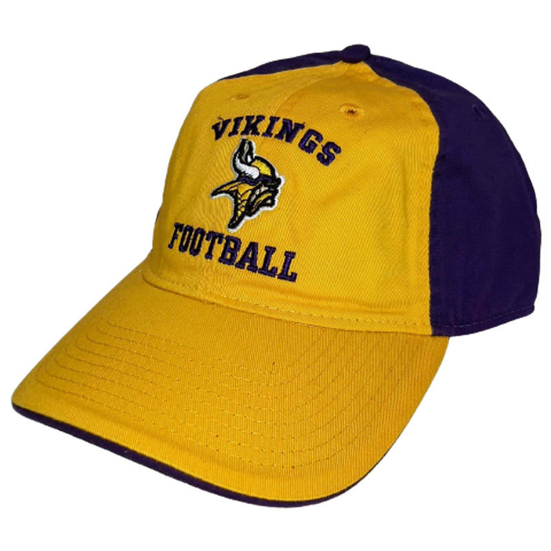 Minnesota Vikings NFL Team Apparel Adjustable Strapback Hat