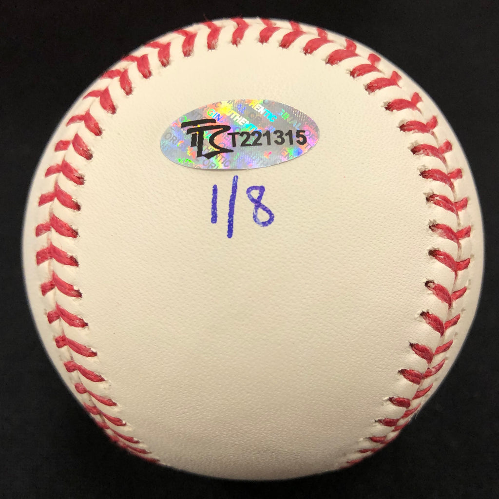 "Gary Gaetti Autographed/Inscribed Fan HQ Exclusive Nickname ""87 WS Champs"" Baseball (Number 1/8)"