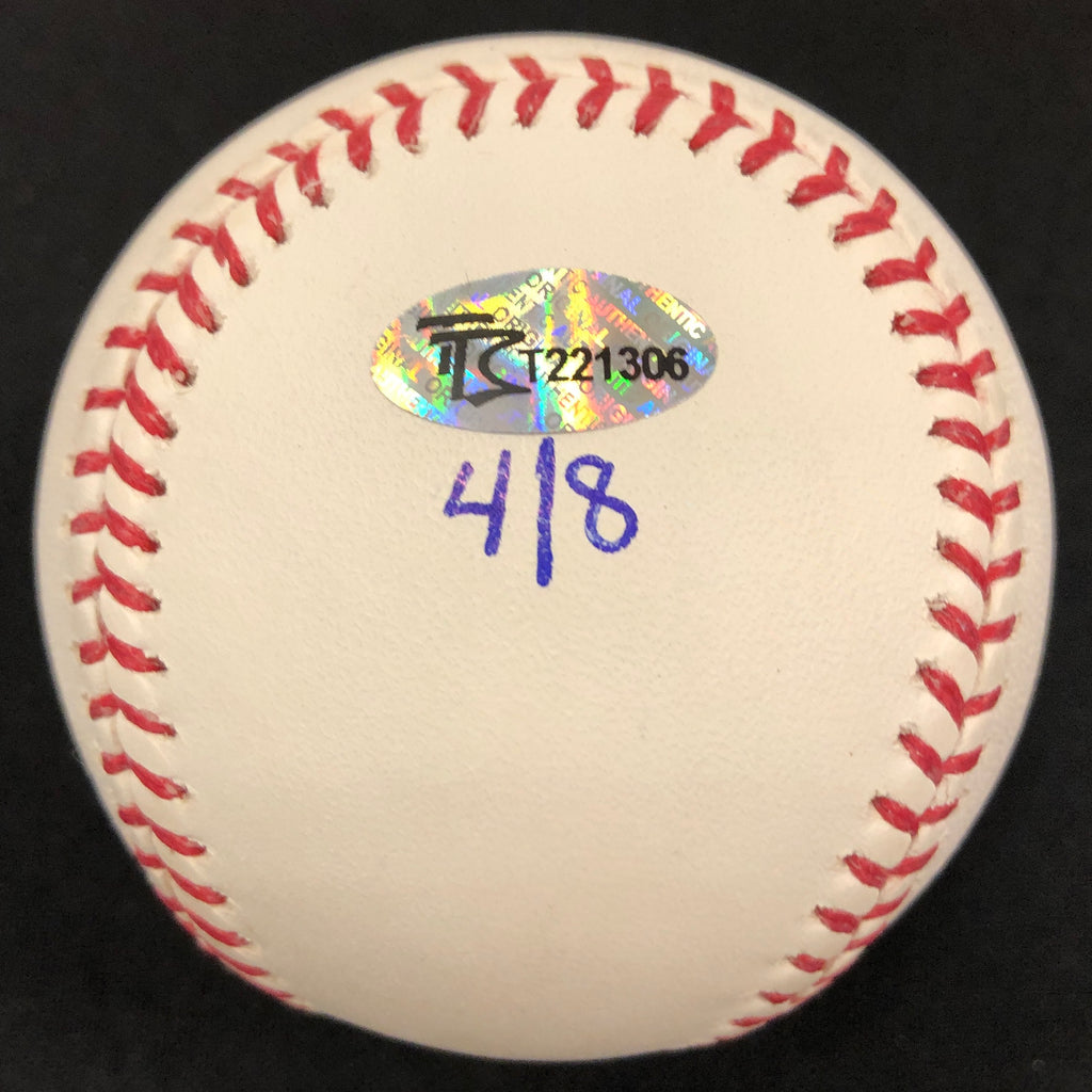 "Gary Gaetti Autographed/Inscribed Fan HQ Exclusive Nickname ""2x AS, 4x GG"" Baseball (Standard Number)"