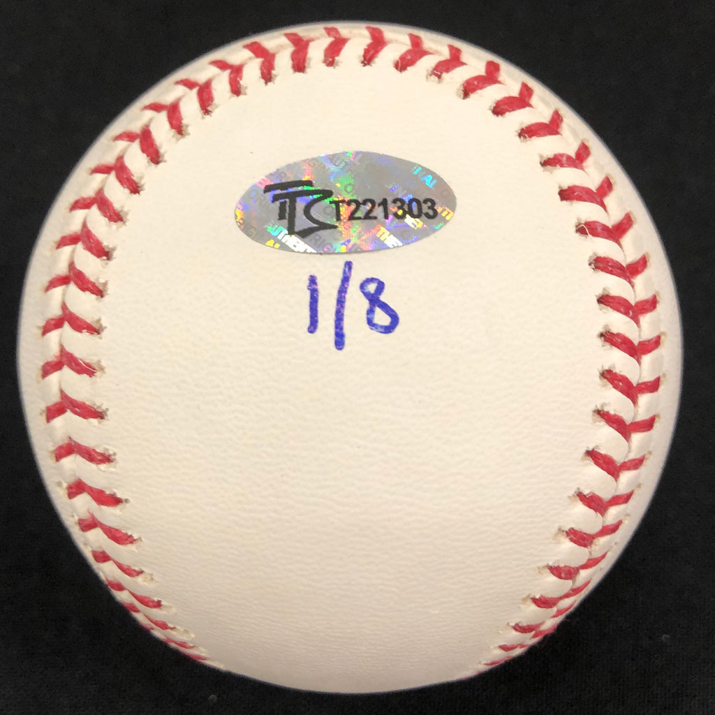 "Gary Gaetti Autographed/Inscribed Fan HQ Exclusive Nickname ""2x AS, 4x GG"" Baseball (Number 1/8)"