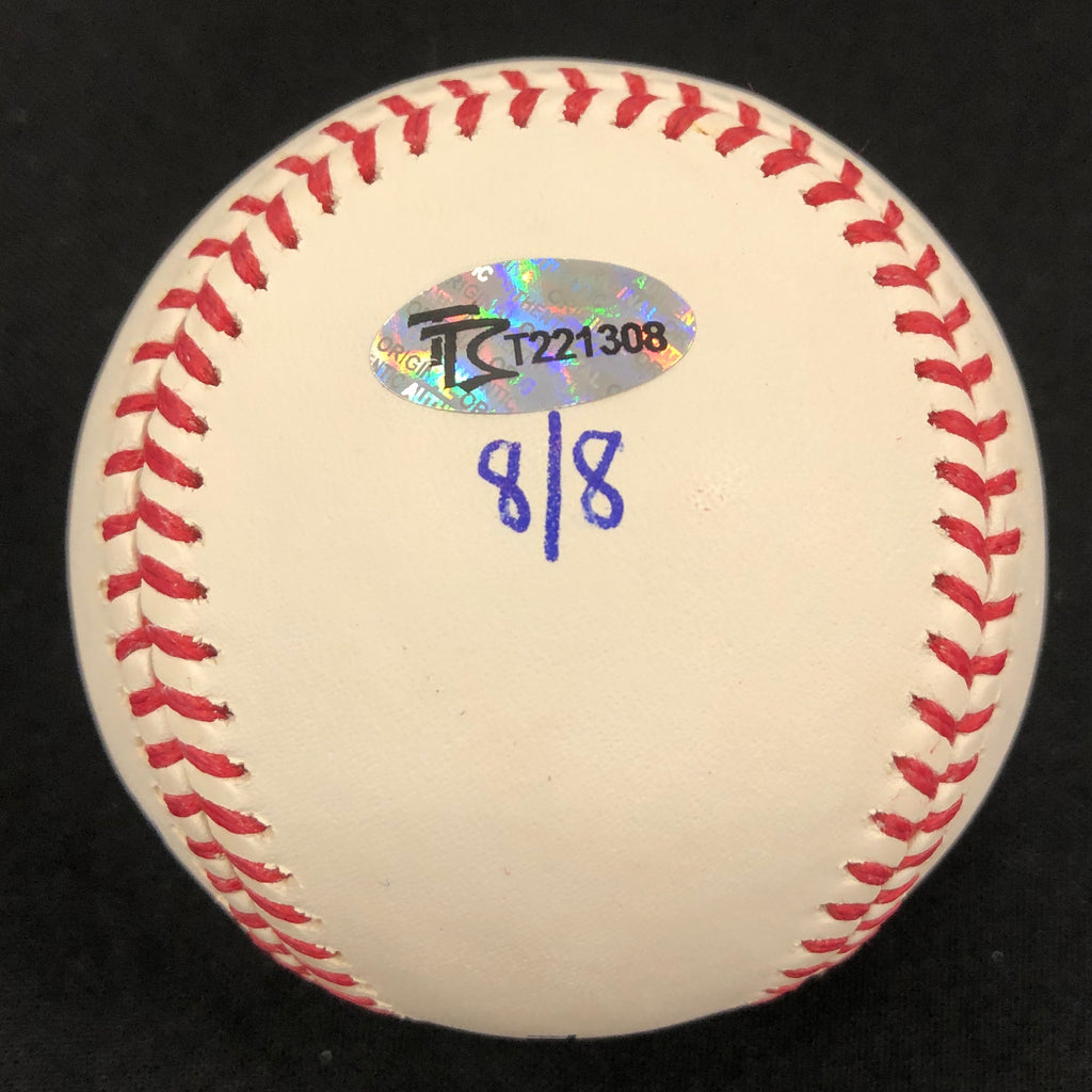 "Gary Gaetti Autographed/Inscribed Fan HQ Exclusive Nickname ""2x AS, 4x GG"" Baseball (Number 8/8)"